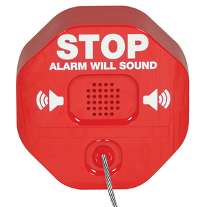 Extinguisher stopper - Alarm / sirene for brannslukker