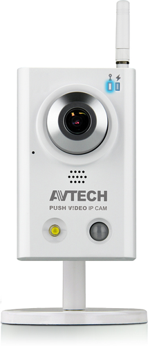 AVN813 - 1,3 Megapiksel - Push-video, LED, SD-kort, WIFI